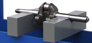V-Blocks on a h Frame press