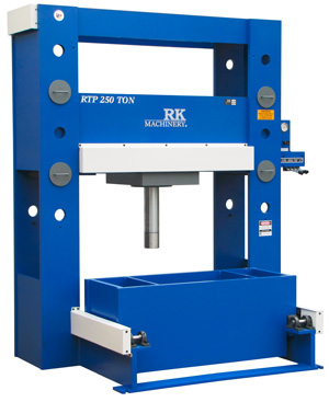Hydraulic Roll In Table Press
