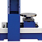 Roll-in Table on this press is for easy loading and unloading of forklift tires